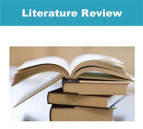 How to make a review of related literature